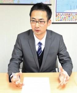 和民(中国)有限公司部長(店舗開発部)釜谷将史2