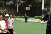 香港サッカー 日本人FW吉武剛選手が深セン日本人学校を訪問