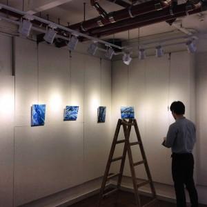 香港アーティスト「ケニース・ツェン個展」