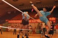 中国大衆スポーツ「踢毽子(羽根蹴り、蹴羽根)」
