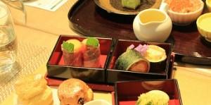 日本茶講習会での料理