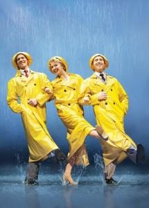 雨に唄えばのワンシーン