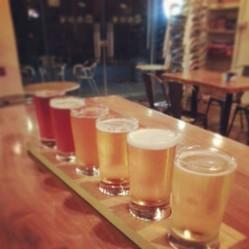 様々なビールを試飲