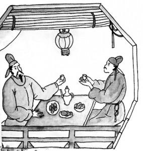 酒を飲みかわす中国文化