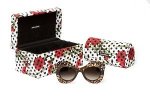 ドルチェ アンド ガッバーナのサングラス