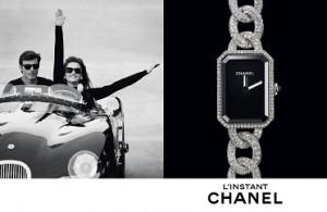 腕時計 L'Instant CHANELの広告