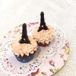 エッフェル塔カップケーキ