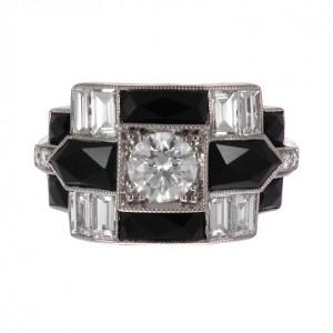 HKD52,800 リング Black Deco Ring HKD52,800