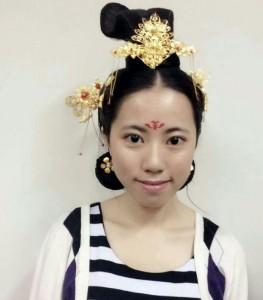 唐時代の貴族たちの髪型