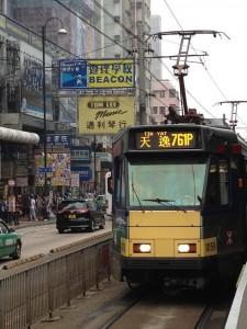 新旧の香港が入り交じる新界