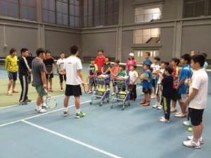 佐藤文平×片山翔プロテニスクリニック