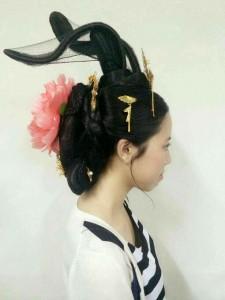 唐時代の貴族たちの髪型2