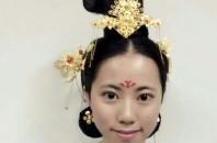 テレビドラマ「武媚娘伝奇」唐時代の髪型を再現