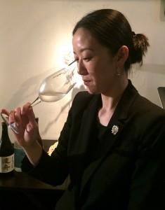 日本酒サービス研究会の認定ソムリエ百瀬さん