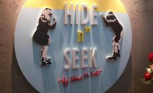 """HIDE n"""" SEEK"""