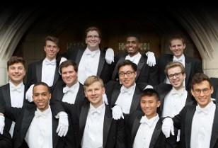 イェール大学アカペラ合唱団「Whiffenpoofs」北角でコンサート