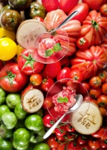 トマトのシャーベット