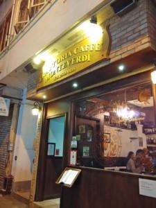 SOHOのカフェ