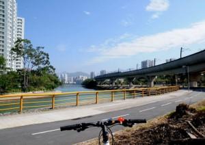 沙田サイクリングロード「單車路線」