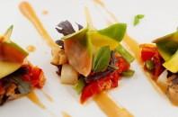 湾仔(ワンチャイ)イタリアン「Assaggio」アート料理