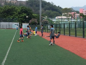 日本人サッカーチーム4チーム 練習風景