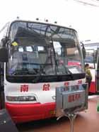 広州から南寧へ向かう寝台バス