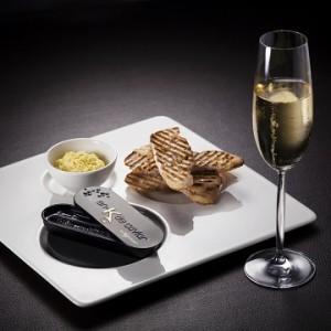 キャビアとシャンパン