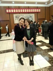 在日中国大使館でパーティー