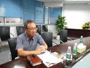 東芝家用電気销售有限公司 董事 総経理の風間毛東夫