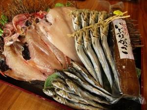 和紗美の新鮮な魚