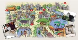 黄埔古港のマップ
