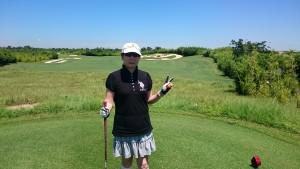 林小玫 ゴルフ