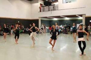 香港バレエ団 練習風景3