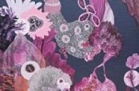 中環(セントラル)ホテル「マンダリン」でピンクがテーマの展示会を開催