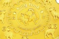 月餅を模した純金を発売「King Fook」中環(セントラル)
