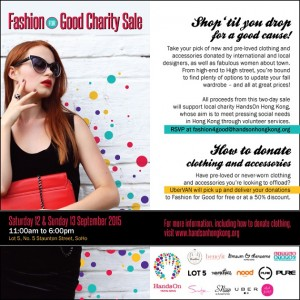 Pop-Up Charity Sale