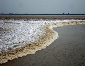 神秘の銭塘江大逆流