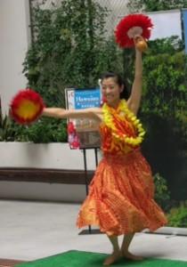 菊地麻由 フラダンス