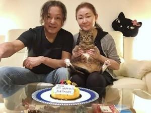 高鳥兼吉さん・悦子さんとMOMOちゃん