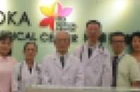 乳幼児・小児無料健診を「広州の櫻華メディカルセンター」が実施