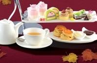 尖沙咀リーガルカオルーンホテル「V bar & lounge」日本食材をアフタヌーンティーで!