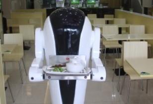 配膳ロボットによる料理提供システム!広州御一信息技術有限公司