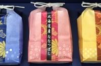日本米取扱店の三代目俵屋玄兵衛より「新米食べ比べセット」