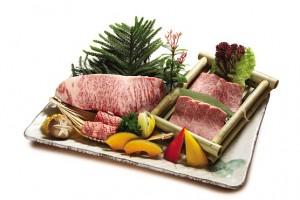 特選日本産和牛サーロイン盛合せ