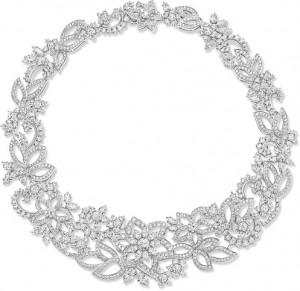 Guipure Diamond Necklace