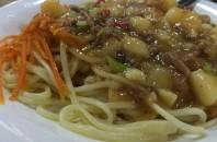 広州東駅前の「蘭州ラーメン」で攻撃的な味付けと麺を楽しむ