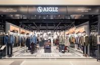 アウトドアウェア「AIGLE(エーグル)」尖沙咀(チムサーチョイ)K11店