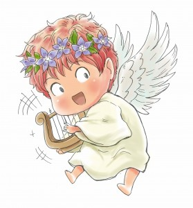 天使のキャラクター