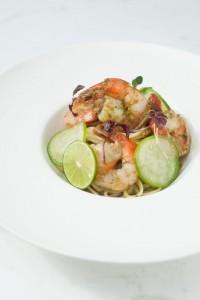 魚介と野菜料理