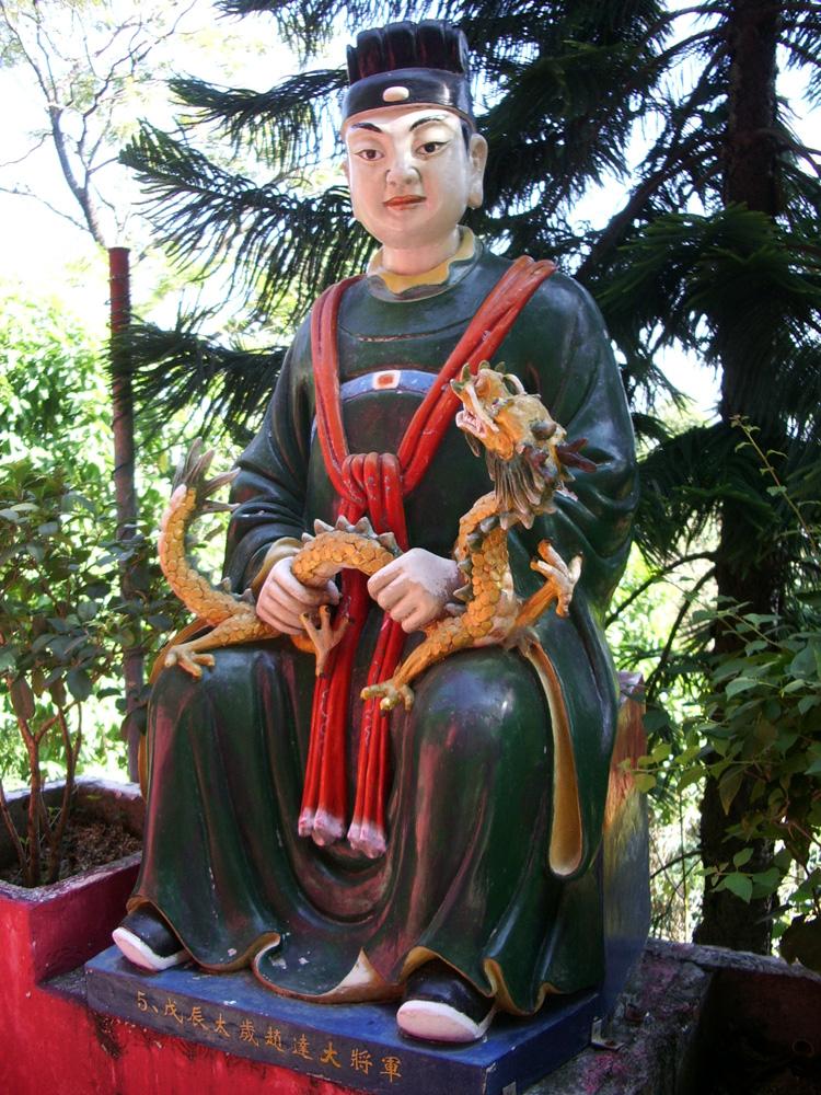 萬佛寺の大将軍